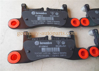 China 2.25 Kg Rear Brake Pad Set For VW Porsche Brake System Durable 7P0698451 factory