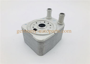 China Phaeton Touareg 3.6 Diesel Engine Oil Cooler , 038117021E Automotive Oil Coolers supplier